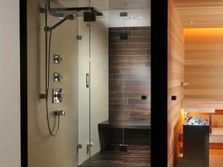 Baños de estilo moderno de Bauarena Moderno