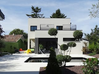 Modern houses by MFP ARCHITECTEURS Modern
