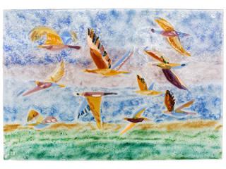 Птицы: Гостиная в . Автор – Семь стекол,