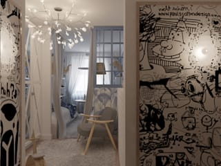 Детская младших детей: Детские комнаты в . Автор – Architectured - мастерская Маргариты Рассказовой