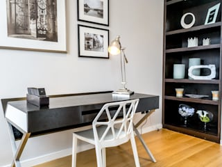 Home Staging : Roland Gardens 北欧デザインの 書斎 の In:Style Direct 北欧