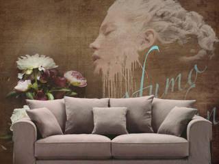 murales digitali VAZ di V.Az Art Interiors Moderno