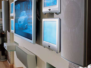 Мультимедиа комната Медиа комнаты в эклектичном стиле от Креативные Инженерные Решения Эклектичный