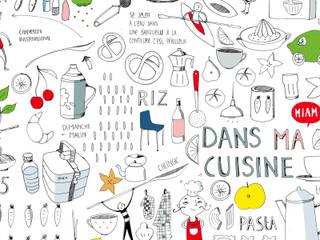 """Affiche """"Dans ma cuisine"""" par Valérie Leblanc Minimaliste"""