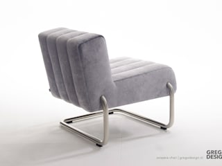 SVIZZERA Chair - by Grego: modern  door Grego Design Studio, Modern