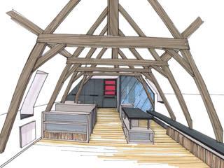 сучасний  by Emilie Bigorne, architecte d'intérieur CFAI, Сучасний