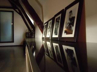 ห้องทำงาน/อ่านหนังสือ by Emilie Bigorne, architecte d'intérieur CFAI