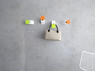 "Wall hanger ""INCL"" de KAMBIAM (NeuroDesign Furniture for People) Moderno"
