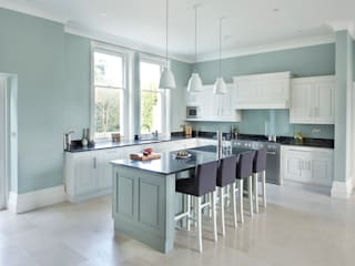 Victorian Home Rencraft Kitchen Wood Grey