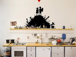 eclectic Kitchen by Urban ART Berlin