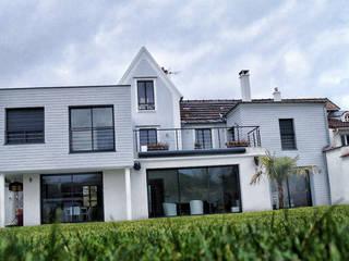 Maison de Ville Croissy sur Seine Yvelines Maisons modernes par B by Lulea Moderne