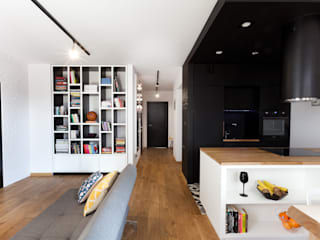 no bo bono Modern living room by unikat:lab Modern