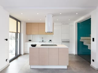 miniszyk Minimalist kitchen by unikat:lab Minimalist
