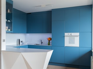 emka Modern kitchen by unikat:lab Modern