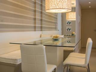 Camila Chalon Arquitetura Modern Dining Room