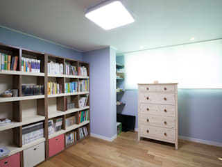 MID 먹줄 Modern Study Room and Home Office