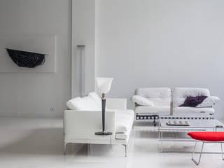 loft minimaliste paris par Intérieurités /catherine vernet Minimaliste
