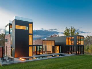 4 Springs Lane Casas modernas de Robert Gurney Architect Moderno
