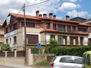 Edificio de 10 Viviendas. Las Arenas-Getxo: Casas de estilo  de BR&Co arquitectos