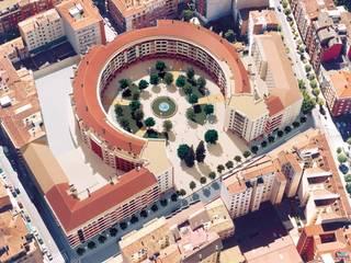 193 Viviendas en Logroño:  de estilo  de BR&Co arquitectos