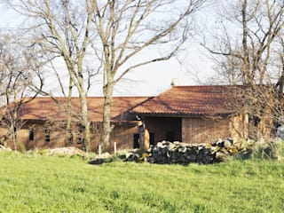 Empreinte Constructions bois Eclectic style houses