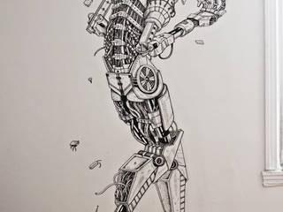 Mega Robot Rock Chambre moderne par Raphaël Dairon Moderne