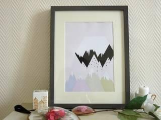 Affiche montagnes:  de style  par MAGIcarterie