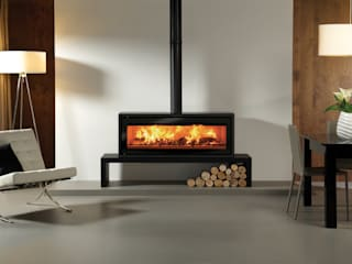 Riva Studio 3 Freestanding:   by Stovax Heating Group