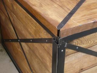 Lada sklepowa: styl , w kategorii Piwnica win zaprojektowany przez Steel&Wood