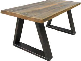 Ława industrial: styl , w kategorii  zaprojektowany przez Steel&Wood