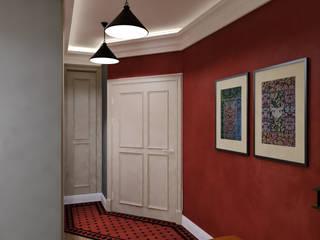 КРАСКИ ВОСТОКА В ПАЛИТЕ ЗАПАДА. Современный интерьер в мавританском стиле Коридор, прихожая и лестница в эклектичном стиле от Сидорова Юлия Эклектичный