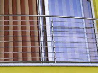 Französische Balkone Moderner Balkon, Veranda & Terrasse von Stalmach Group Modern