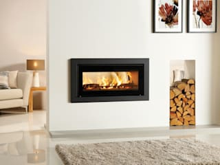 Stovax Riva Studio Fires de Stovax Heating Group Moderno