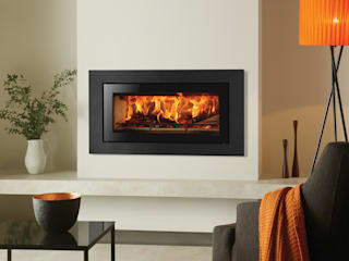 Stovax Riva Studio Fires de Stovax Heating Group Minimalista