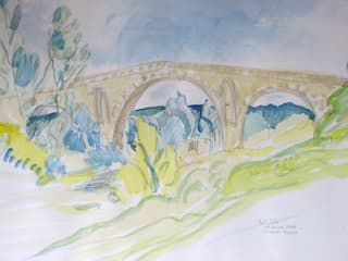 Römische Brücke von Emo Schuschnig Mediterran