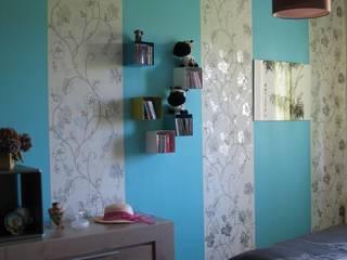 Décoration d'une chambre Chambre originale par One look inside Éclectique