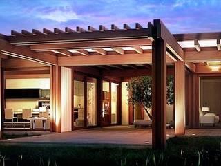 Render 3d di una vista esterna: Case in stile  di 3dforme