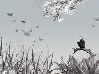 Dschungel Asiatische Wände & Böden von Gaedke Tapeten Asiatisch