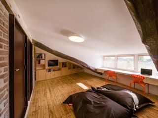 Habitaciones para niños de estilo moderno de Lautrefabrique Moderno