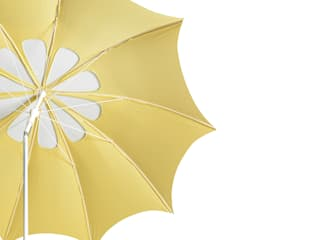 Ombrelle Flora jaune, pour agréablement ombrager son extérieur ! Brin de Jardin Balcon, Veranda & TerrasseMobilier