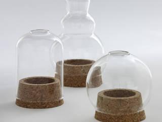 Les photophores en liège et verre boule, cloche et dodu, trois formes originales pour éclairer votre extérieur ! Brin de Jardin Balcon, Veranda & TerrasseEclairage
