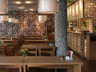 Diverse Wandprojekte Asiatische Gastronomie von Gaedke Tapeten Asiatisch
