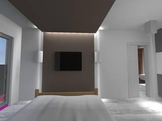 Dormitorios modernos de Giuseppe Strippoli Designer Moderno