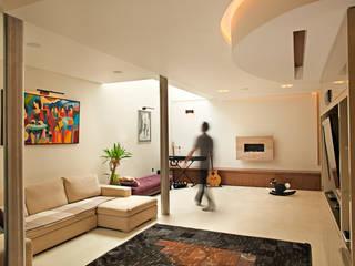 Hampstead P1, NW3 Salon moderne par XUL Architecture Moderne