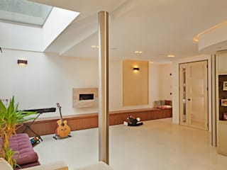 Hampstead P1, NW3 Modern living room by XUL Architecture Modern