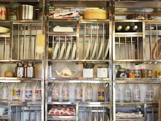 Stainless steel plate racks:   by The Plate Rack