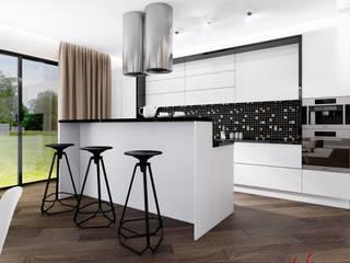 Загородный дом 160 м.кв: Кухни в . Автор – Студия Аксаны Ситниковой,