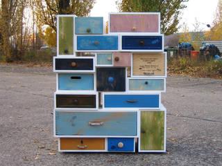 Möbel aus alten Schubkästen I Ausgefallene Veranstaltungsorte von Selma Serman Ausgefallen
