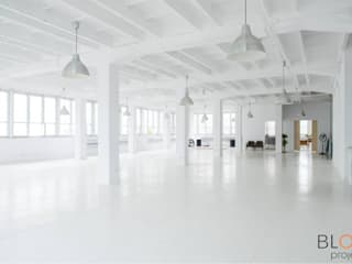 Рабочий кабинет в стиле лофт от Blok projekt Лофт