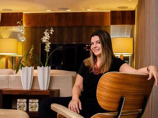 Living - G|A:   por Carolina Fagundes - Arquitetura e Interiores